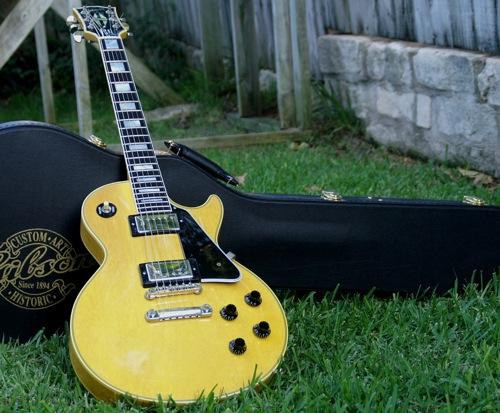 Tv Yellow Guitar