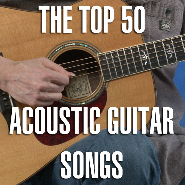Top 50 Acoustic Guitar Songs With Tab Guitar Treats