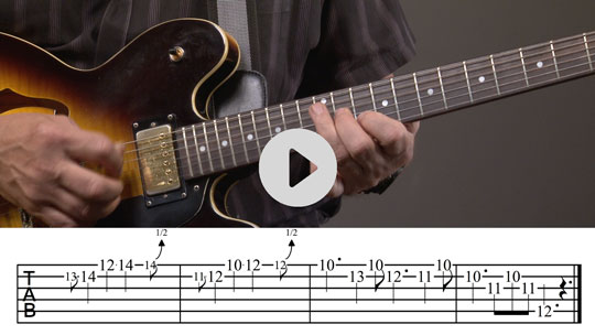 How to Play a Slow Blues Guitar Turnaround