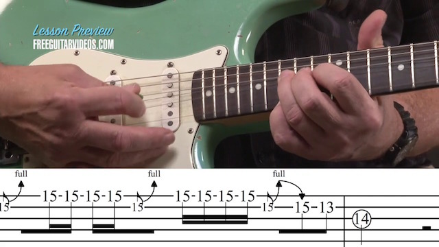Johnny Winter Guitar Lesson