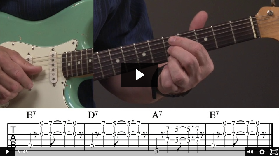 Blues Rhythm Riff
